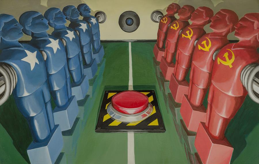 stefano-gentile-guerra-fredda-cold-war-pop-art-arte-calcio-biliardino