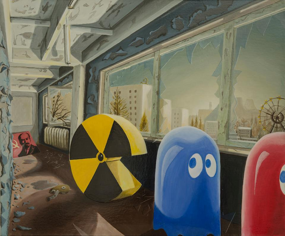Ghost Town_stefano_gentile_chernobyl_prypyat_nuclear disaster_pac-man
