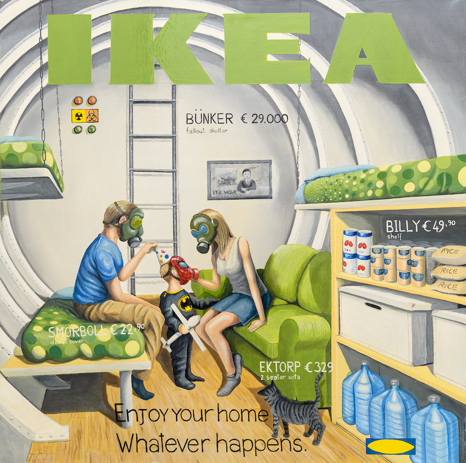 Bunker-stefano-gentile-ikea-catalogue-art-pop-family
