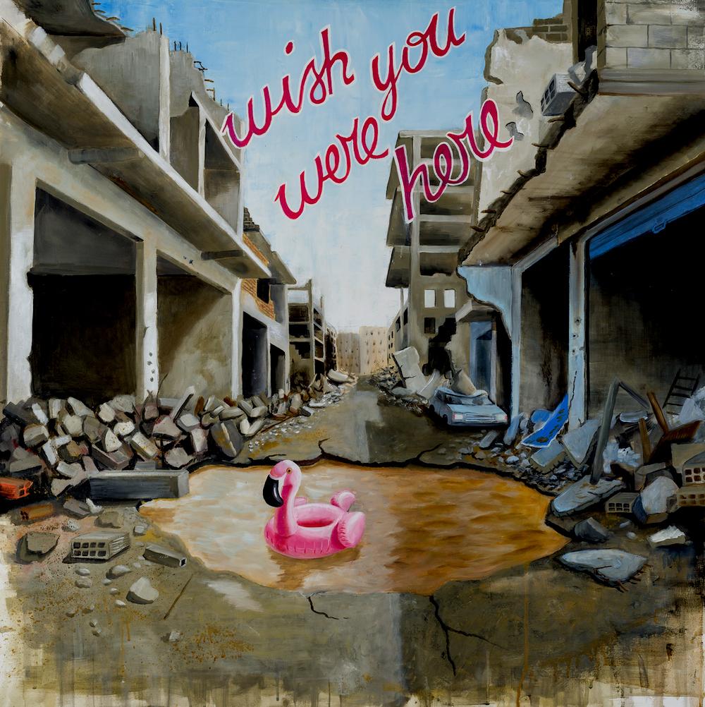 stefano-gentile-syria-pop-art-flamingo-damasco-war