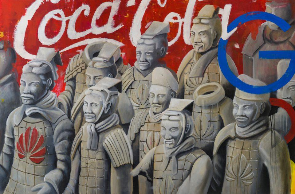 Duty war-stefano-gentile-art-pop-china-army