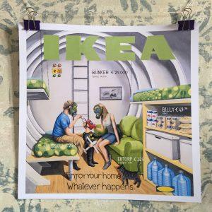 limited edition print bunker staremo gentile art