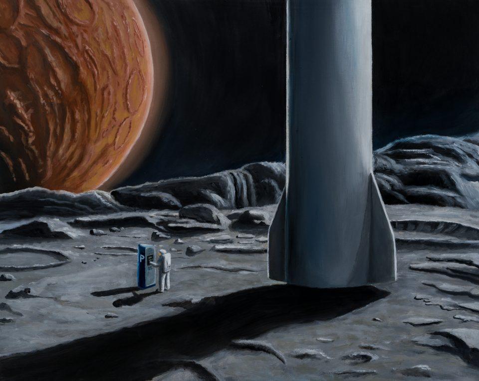 Parking on Phobos